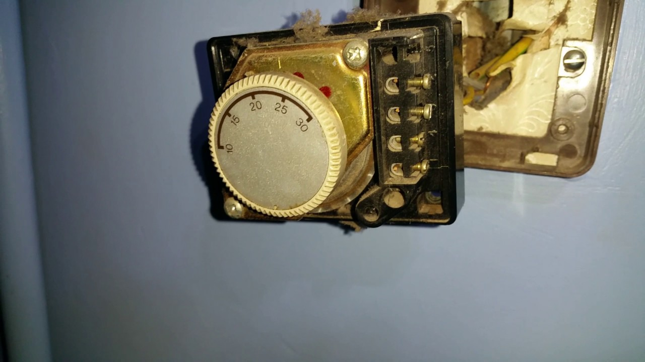 Honeywell Thermostat Old