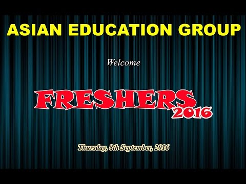 Freshers Party 2016