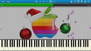 My new synthesia remix! this time i remixed reflection ringtone from iphone x! also, added some christmas related pictures. enjoy!