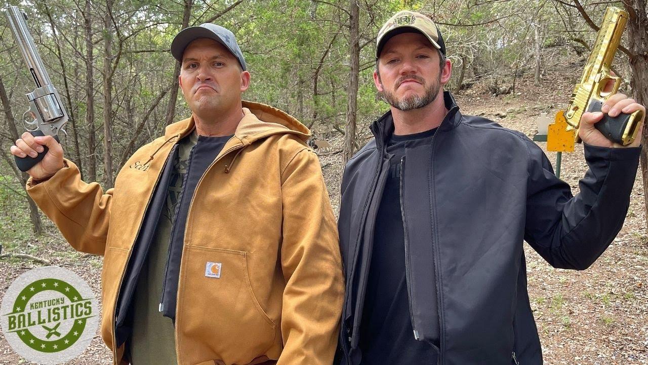 Bulletproof Clothing Torture Test (ft. Demolition Ranch)