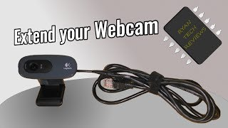 DIY USB Extension Cable for USB Webcam (with Cat 5e Ethernet Cable)