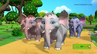 Ek Jada Hati marathi song for kids | Marathi nursery rhyme | marathi balgeet | Kiddiestv Marathi