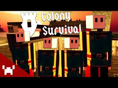 BOOST THE NATIONAL DEFENSE | Colony Survival w/ Ze, Chilled, & GaLm #4