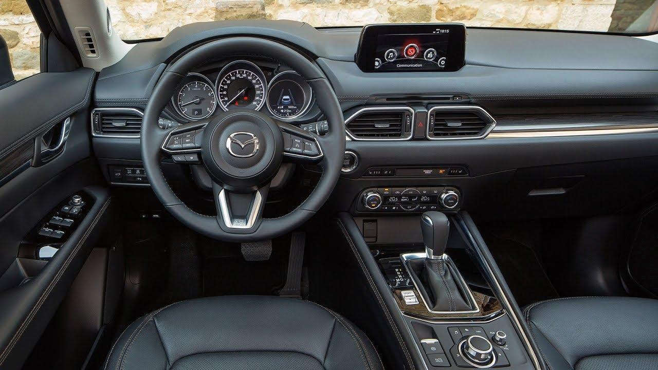 Mazda CX-5 Интерьер. Я купил новую Mazda CX-5. 2017.