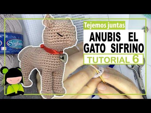 GATO AMIGURUMI parece REAL 🐈 tutorial 6 ❤️ Amigurumi de SAN VALENTIN ❤️