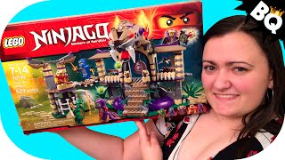 Lego Ninjago Enter The Serpent 70749 Build & Review