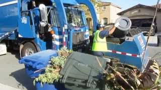 republic services curotto can manual and automated greens part 1