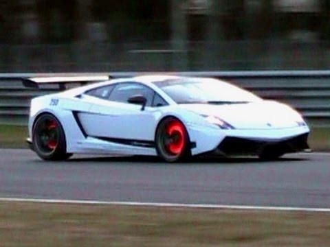 Lamborghini Gallardo Lp570 Loud Sound Glowing Brakes Youtube