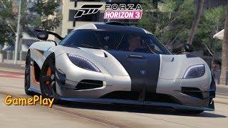 Forza Horizon 3  #Koenigsegg One:1 GamePlay