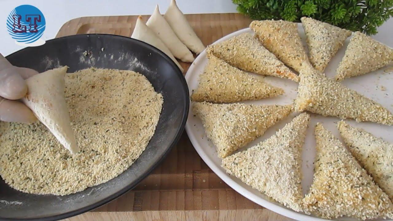 gevrek ve çok lezzetli. onları bir tavada basitçe yap!