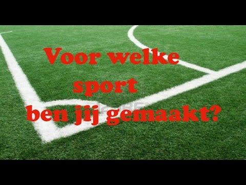 ✔ Voor Welke Sport Ben Jij Gemaakt?