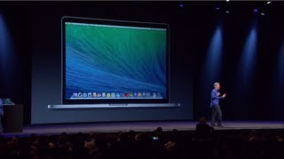 Apple WWDC 2013 - OS X 10.9 Mavericks Introduction