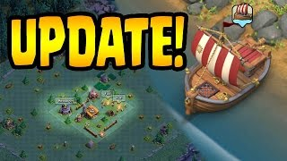 THE UPDATE IS HERE | Builder Village | Gem Mine | Clash of Clans