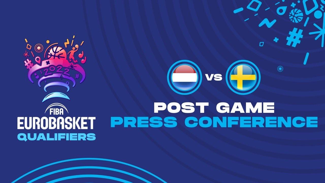 Netherlands v Sweden - Press Conference