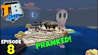 Truly Bedrock Episode 8! WE'VE BEEN PRANKED!? Minecraft Bedrock Survival Let's Play!