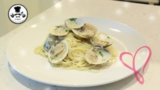 [andy Dark Cooking] 蒜蓉香草辣蜆意粉 (spicy Pasta With Clams, Garlic And Herbs) Ft. 鄭麗莎 Lisa Cheng
