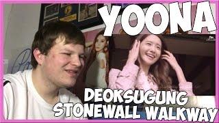 Yoona (윤아) - deoksugung stonewall walkway (feat. 10cm) mv reaction
