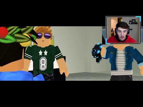 REACTING to THE NEW LAST GUEST STORY - A Sad Roblox Movie
