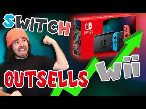 Nintendo Switch Just OUTSOLD The Nintendo Wii In Japan! SWITCH VS. Wii!!