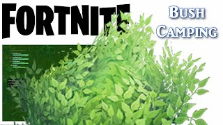 Camping vous fait gagner!!! Fortnite bataille royale