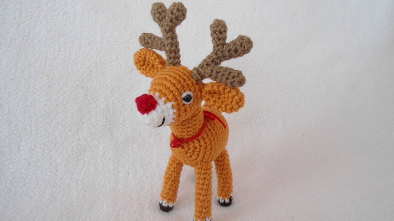 How to make Amigurumi reindeer - Instructions in Italian ... | 720x1280
