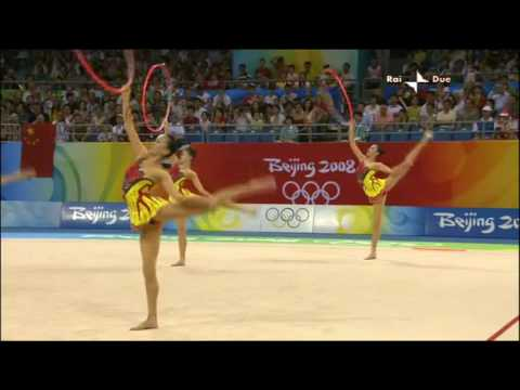 China 3 hoops 4 clubs 2008 final olympic games Beijing