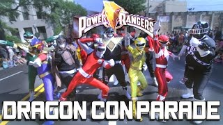 Mighty Morphin Power Rangers VS Dragon Con Parade 2016 (Super Sentai X Kamen Rider)