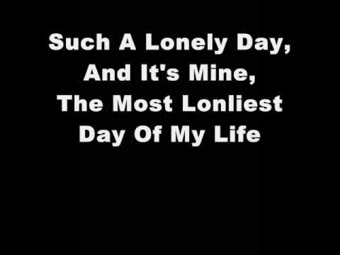 System Of A Down - Lonely Day Lyrics