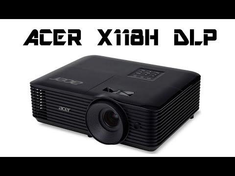 Acer X118H 3D 800X600 DLP Projector