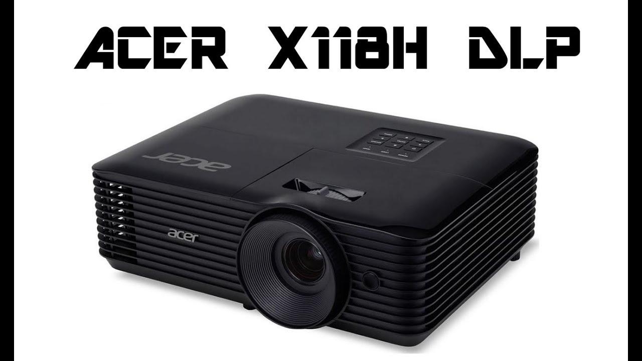 Acer X118H 3D 800X600 DLP Projector - YouTube
