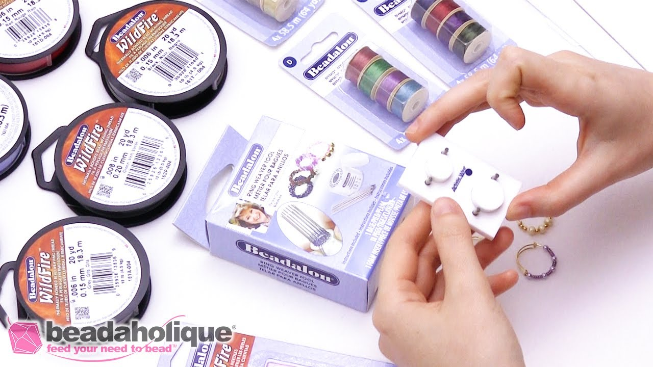Show and Tell: Colorful Thread and Wire Tools from Beadalon - YouTube