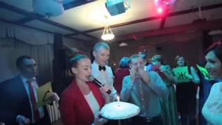 Как видеооператора поздравили с днем рождения на свадьбе. Видеосъемка в Тюмени