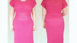 Вяжем летнее платье. Часть 1.