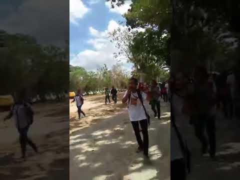 Demo mahasiswa unpatti 26 september 2018