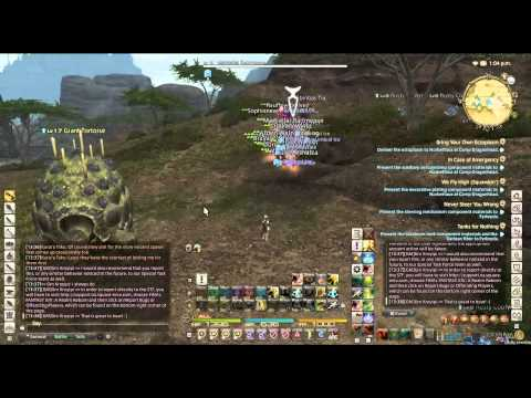 Mass RMT Army in FFXIV