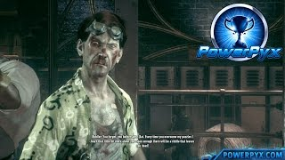 Batman Arkham Knight - Riddler Boss Fight (Riddle Me That Trophy / Achievement Guide)