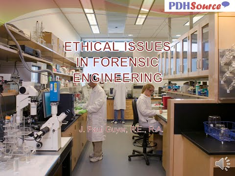 AV PP BULLET Ethical Forensic Engineering