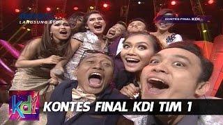 Azizah, Wahid, Fauzi dan Aidil Saling Unjuk Gigi - Kontes Final KDI Tim 1 (15/5)