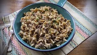 How to Make Simple Beef Stroganoff | Beef Recipes | AllRecipes