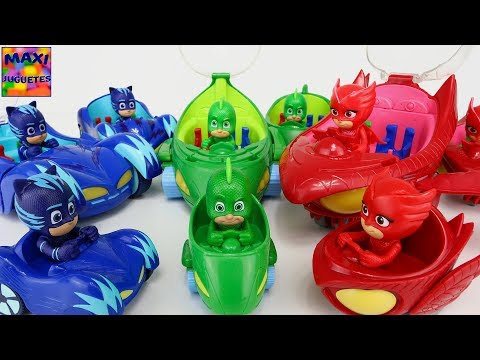 Juguetes de PJ MaskS | Vehiculos Deluxe Normales y Mini