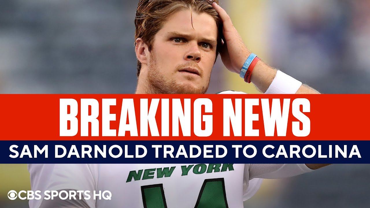 Jets Trade Sam Darnold to Carolina Panthers