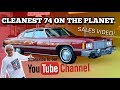 Cleanest 1974 Chevrolet Caprice ON THE PLANET PERIOD! SALES VIDEO