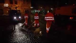 DW: German Ahmadiyya Muslims help clean up on New Years