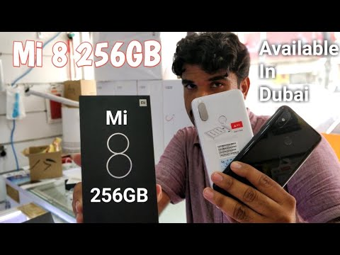 Hindi | Mi 8 Unboxing 256GB Storage Available In Dubai.