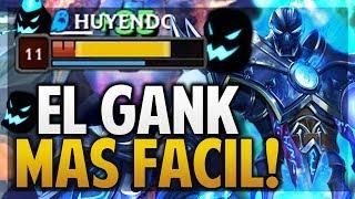 ¡EL GANK MAS FÁCIL! NO PUEDEN VER NADA! | NOCTURNE JUNGLA | League of Legends