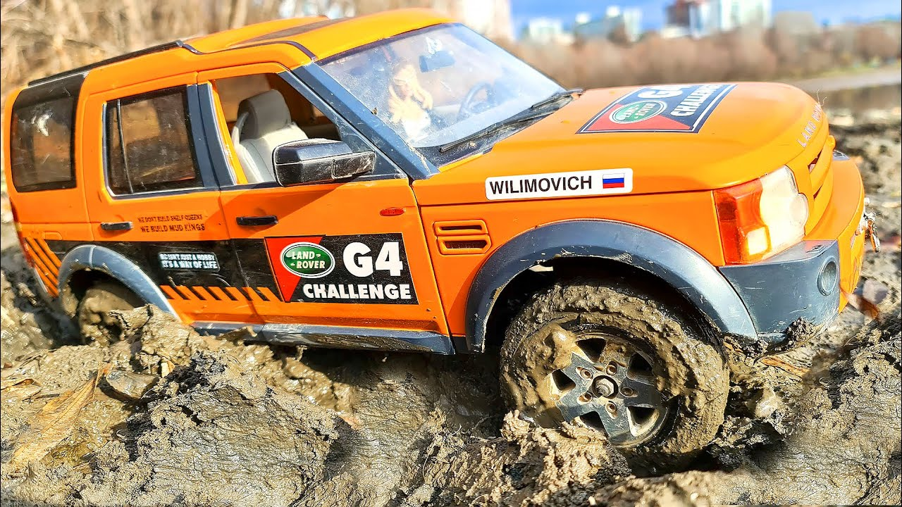 RC Car Land Rover Discovery 4x4 Get Stuck in MUD Can a Winch Help? – MUD King - Wilimovich