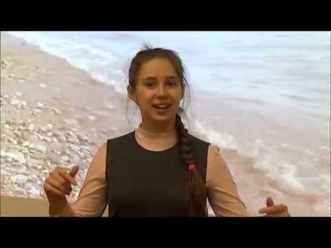 Изображение предпросмотра прочтения – МарияСкрипейчук читает произведение «Все море — как жемчужное зерцало…» И.А.Бунина