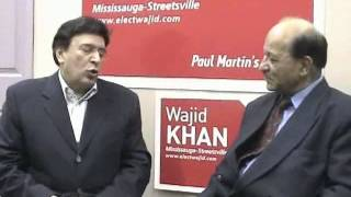 TorontoTV-South Asian Outlook -Wajiid Khan interview -20060110
