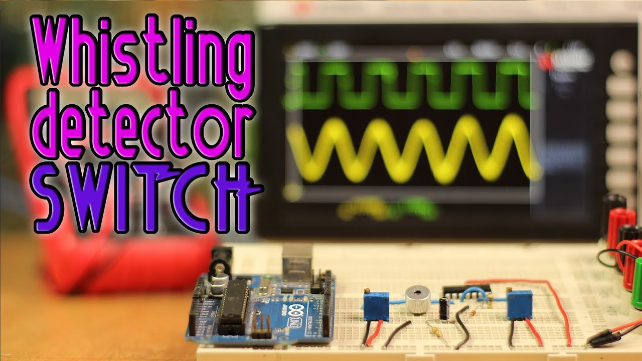 Whistle Detector Switch With Arduino Youtube Sound Using Lm324