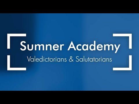 Sumner Academy Valedictorians & Salutatorians 2019